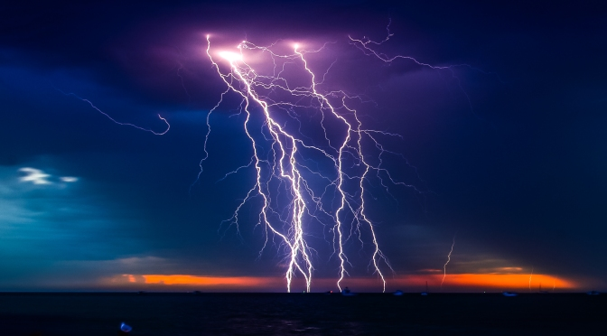30 Healing Scriptures – Relaxing Thunder Storm and Nature
